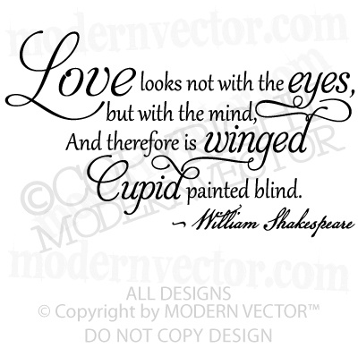 A Midsummer Night's Dream, Shakespeare Quote