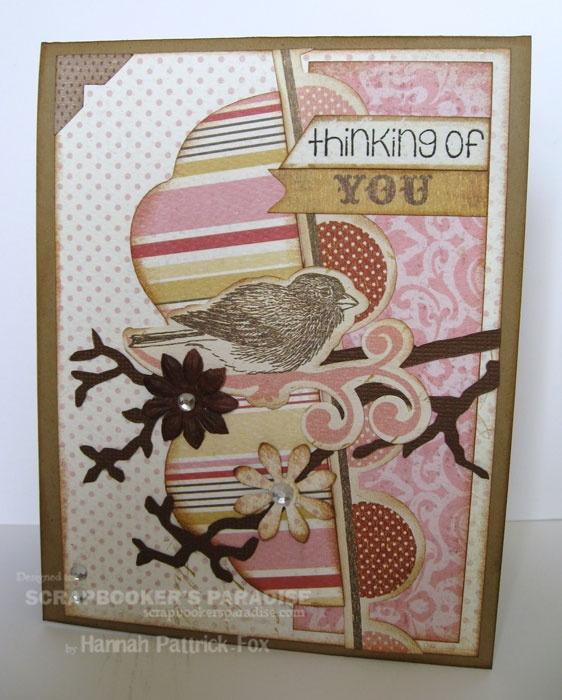 by Hannah at our south store for http://scrapbookersparadise.blogspot.com