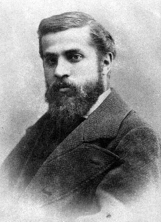 Antoni Gaudi (1852-1926) Catalan architect.