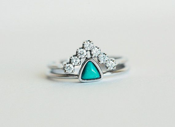 Hey, I found this really awesome Etsy listing at https://www.etsy.com/listing/230698850/wedding-set-turquoise-ring-with-curved