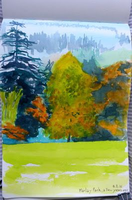 MHBD's Blog: Painting trees
