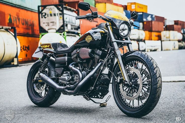 """""""TB-1"""" Custom Harley-Davidson Dyna Low Rider S 2017 by Thunderbike Customs 