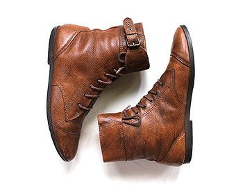 Vintage brown leather - with monk strap