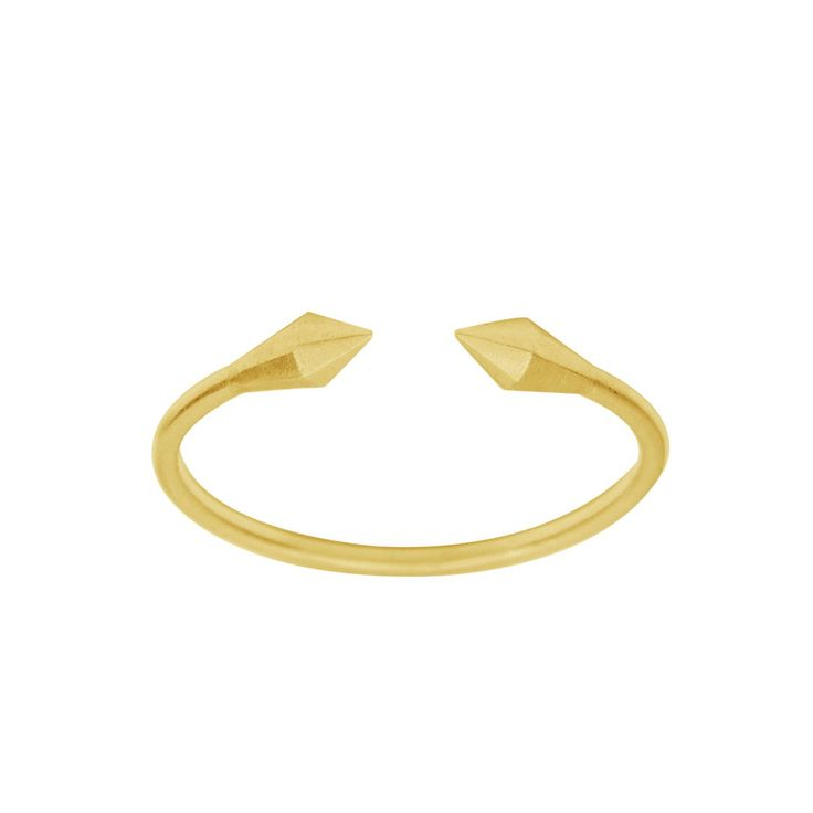 Open Petit Diamond Ring Gold