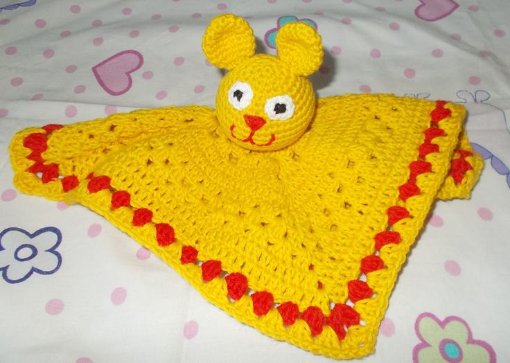 crochet stuffed toy