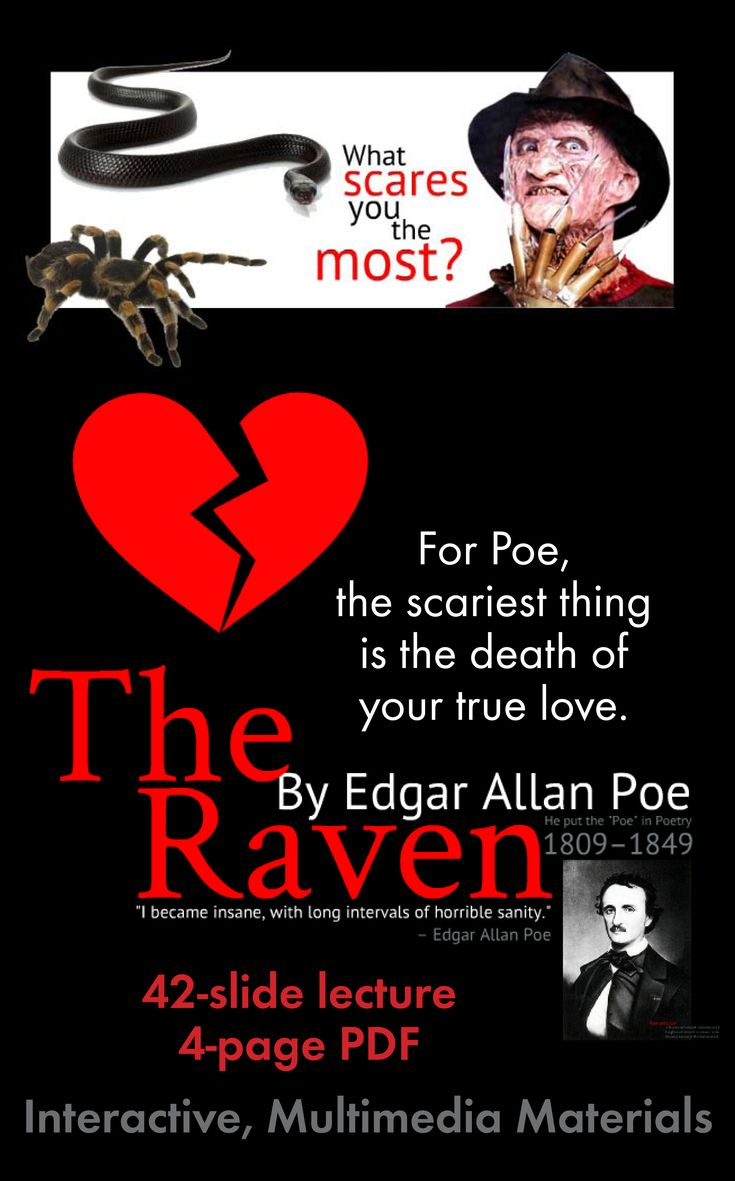 edgar allan poe writings based on Although an accomplished poet and literary critic, edgar allan poe is perhaps  best remembered for his tales of horror.