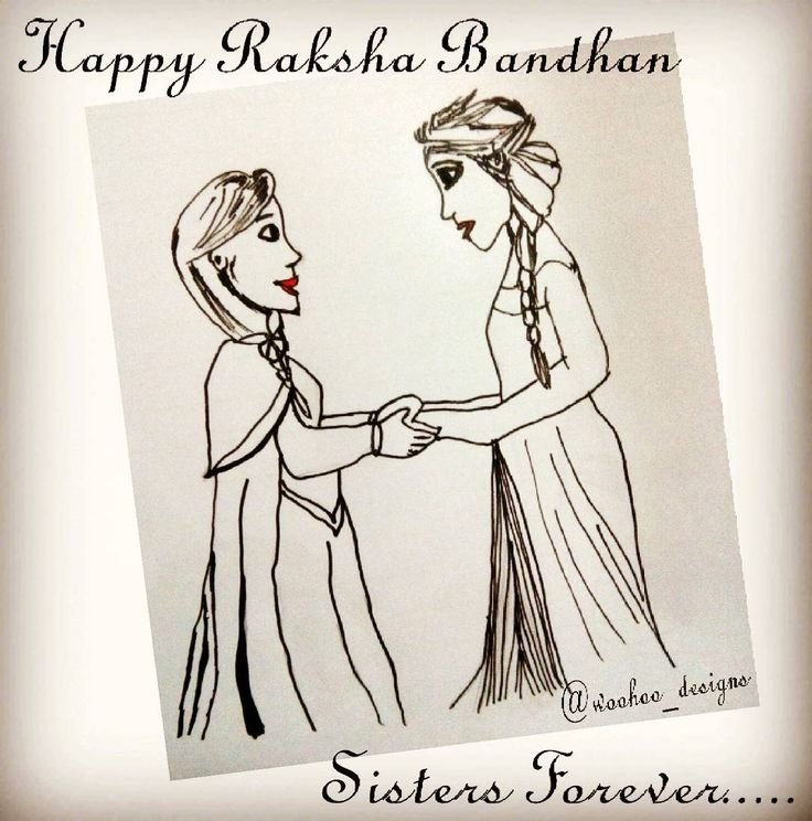 """Sisters are next to mothers. They take care of their little brothers and sisters like second mother. Their love is like ocean and it was beautifully portrayed in the movie """"Frozen"""". So this Raksha Bandhan lets throw light on this bonding between sisters and show them lots of love.. Spread the love... #sisters #rakshabandhan #raksha #love #Frozen #Disney #rakshabandhan2017 #bonding #care #olaf #Elsa #Anna #ice #friends http://misstagram.com/ipost/1571183854194799036/?code=BXN92QSHDG8"""
