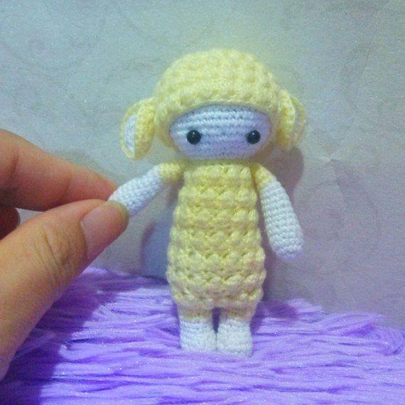 Amigurumi Sheep Doll : Crochet Doll