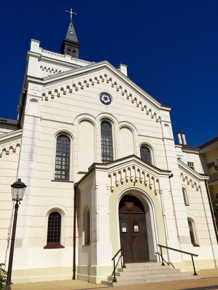 Evangélikus Egyházközség Lekészi Hivatal, Kecskemét Kecskemét, Hungary, Photo by Megan K. Lethbridge