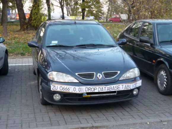 SQL Injection Fools Speed Traps and Clears Your Record