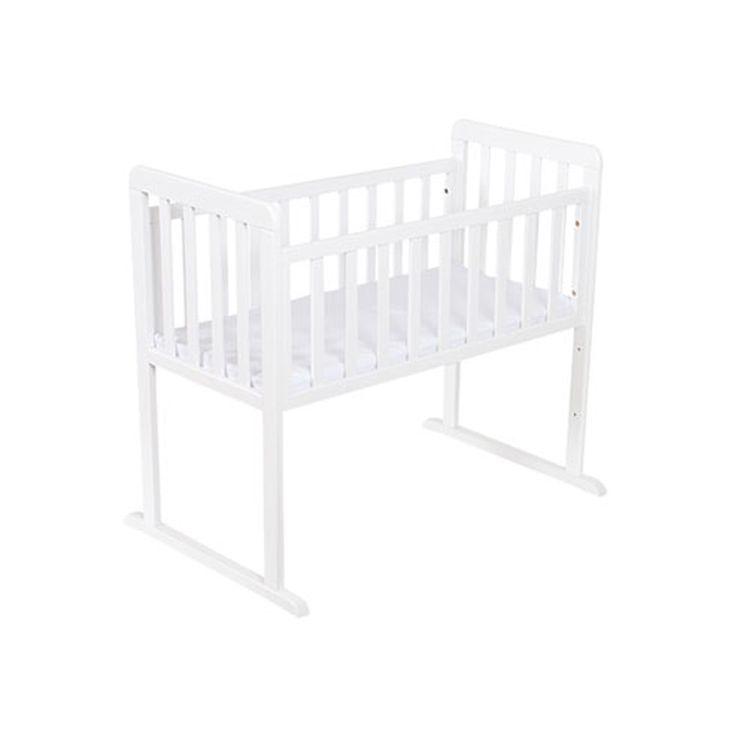BabySleep spjälsäng, Alexander Mini, vit