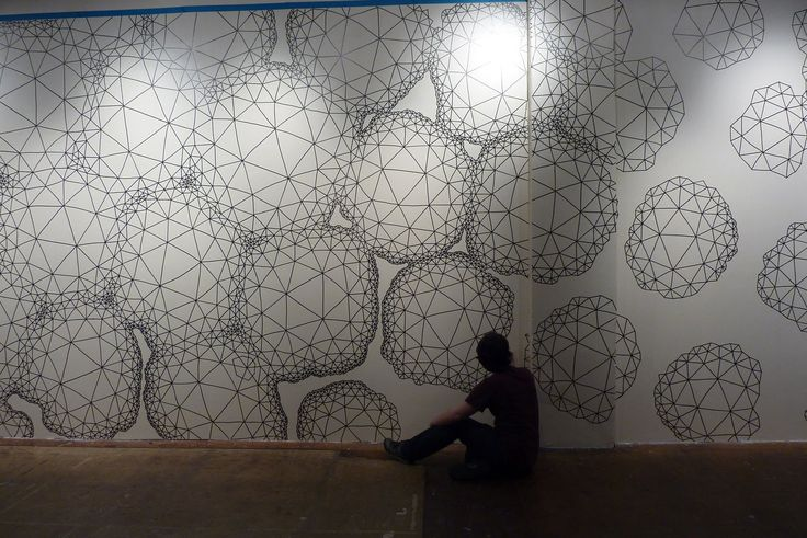 daedalsmith: Day one- drawing on Space's wall