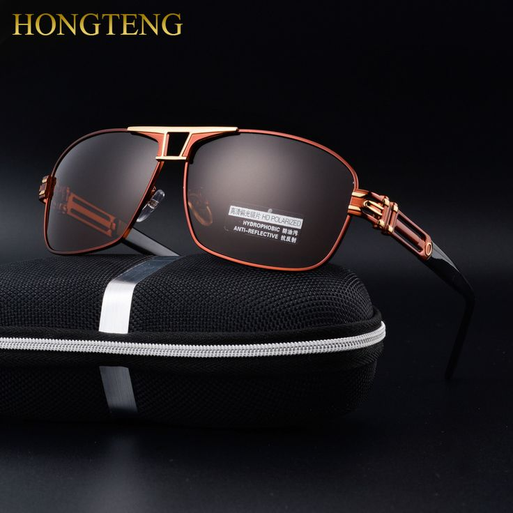 HONGTENG Stainless Steel Men's Sun Glasses Polarized Driving Oculos masculino Male Eyewear Accessories Sunglasses For Men man stuff -- AliExpress Affiliate's buyable pin. Clicking on the image will lead you to find similar product on www.aliexpress.com #MensSunglasses