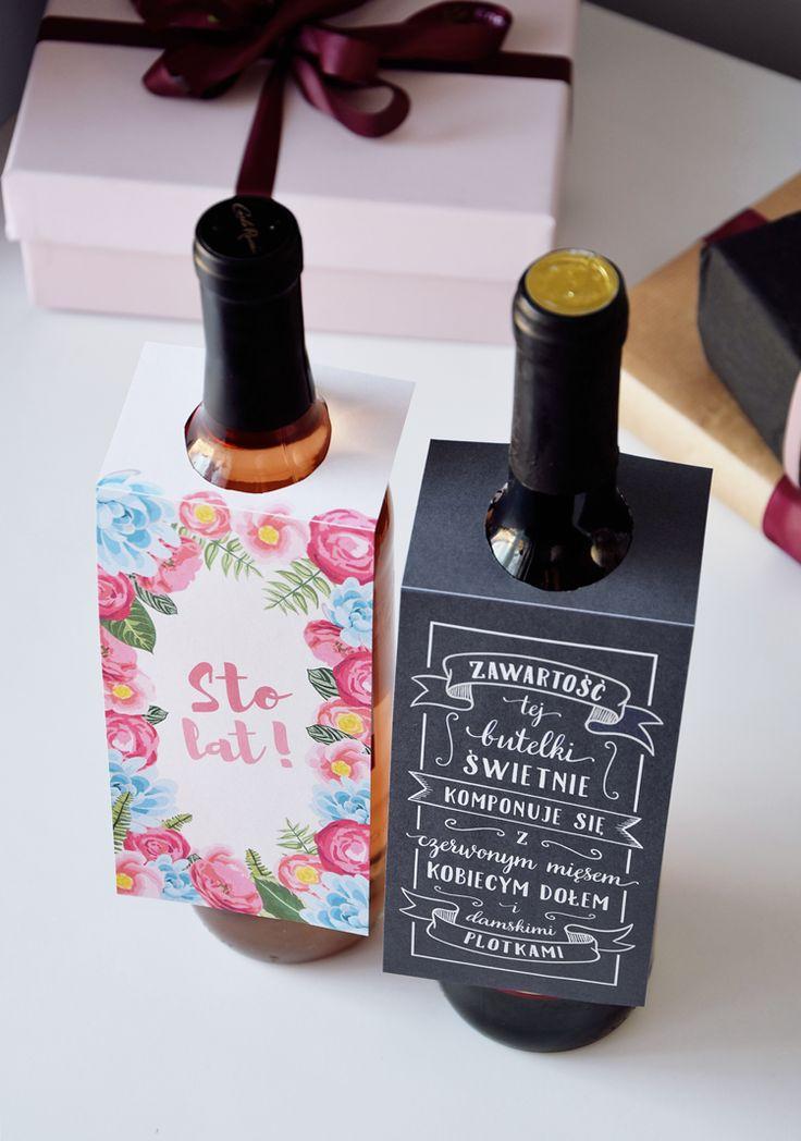 Etykiety na butelkę do pobrania