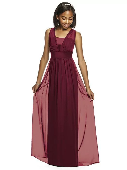 Dessy Collection Junior Bridesmaid JR531 http://www.dessy.com/dresses/junior-bridesmaid/jr531/?color=burgundy&colorid=8#.VpsQCCorKhc