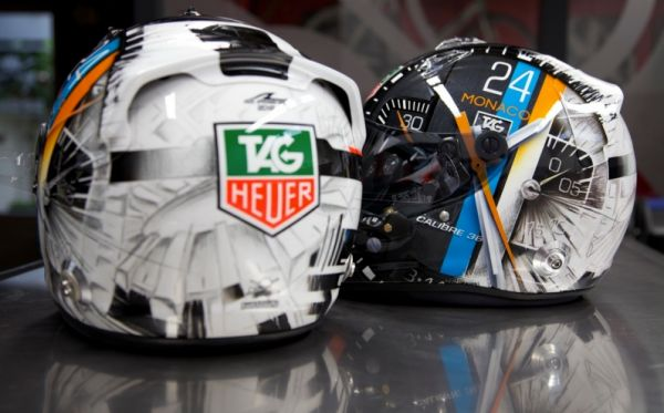 Andre Lotterer's TAG Heuer Helmet from 2012 Six Hours of Fuji