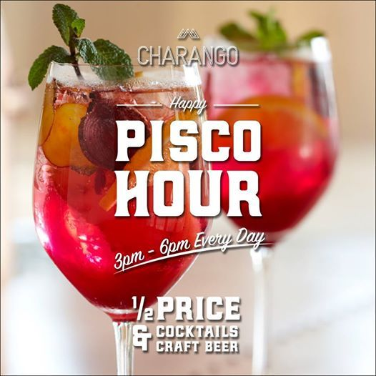 PISCO+Happy+Hour+at+Charango