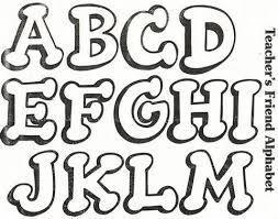 Resultado de imagen para diferentes tipos de letras del abecedario para imprimir