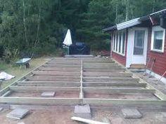 Bildresultat för bygga altan på plattor