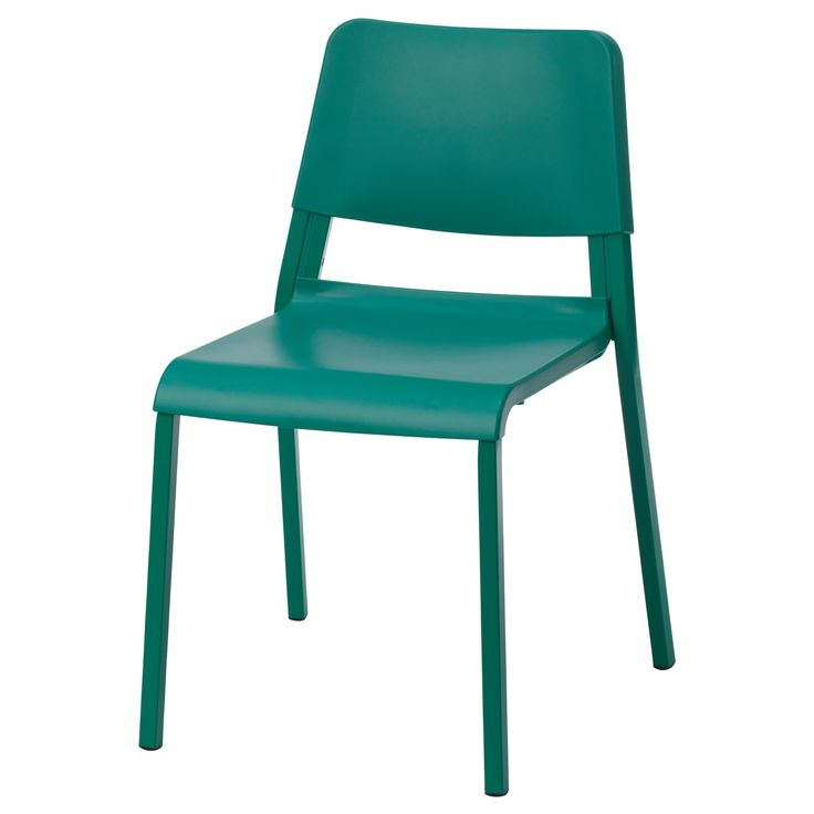 Cheep Dinning Room Chairs: IKEA TEODORES Green Chair