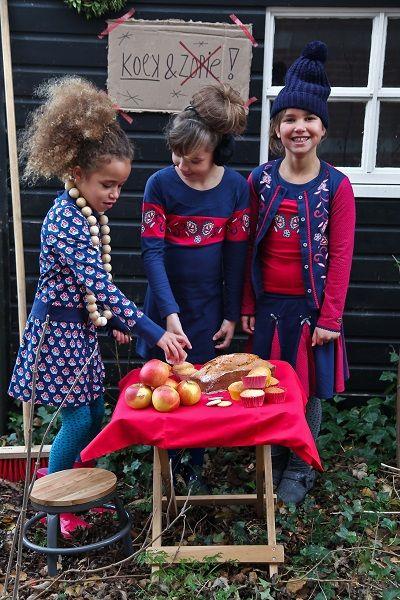 Laat die winter maar komen! Trendy meidenkleding van The Dutch Design Bakery voor winterseizoen 2015-2016