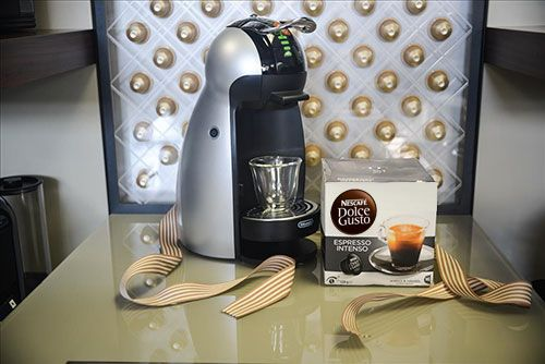 Intense Espresso with Nescafe Dolce GustoIntense Espresso is the perfect Father's Day gift for dads who enjoy a rich espresso. Each serving promises to deliver an intense aroma & a full bodied flavour with a velvety crema finish.