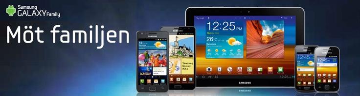 Samsung familjen - upptäck vad som finns på insidan av din Galaxy