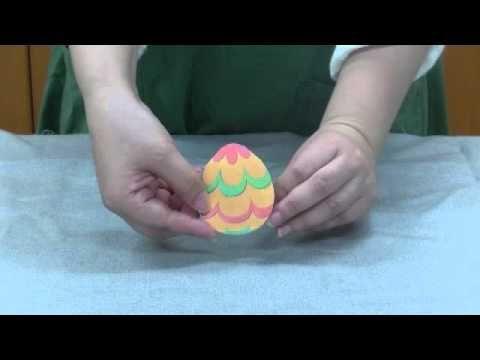 びっくり!恐竜の卵(激カワ第2期『かざろう!あそぼう!ほんわかおもちゃ』、『キットで作るかんたん工作』) - YouTube