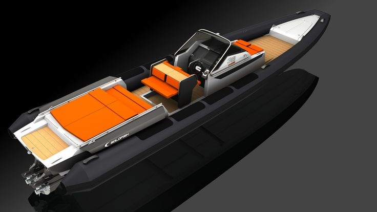 Render of the new Goldfish 38