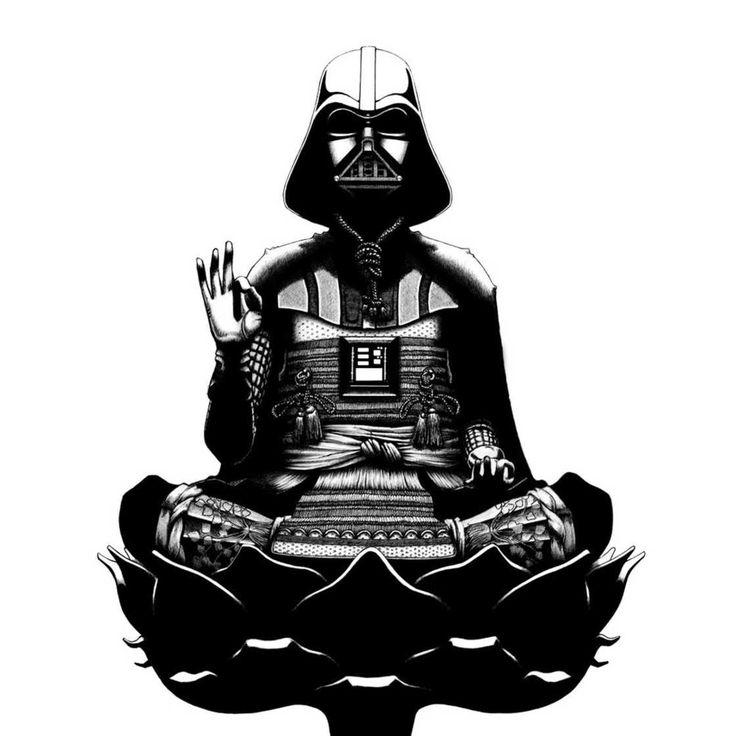 """om sua série chamada """"Idols"""", o ilustrador americano Andrew Browne criou versões modernas do tradicional Buda. Com referências da cultura pop e símbolos da sociedade japonesa, o artista usou uma ca…"""