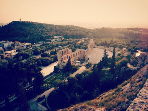 Greece- The Odeon of Herodes Atticus