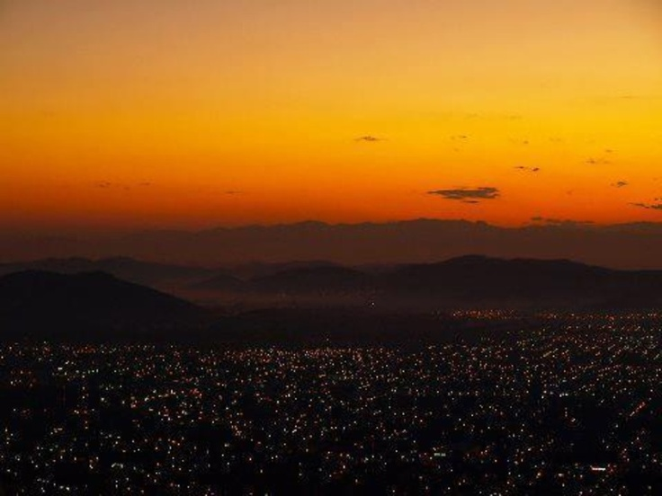 Sunset in San Pedro Sula,Honduras    Beatiful my City !
