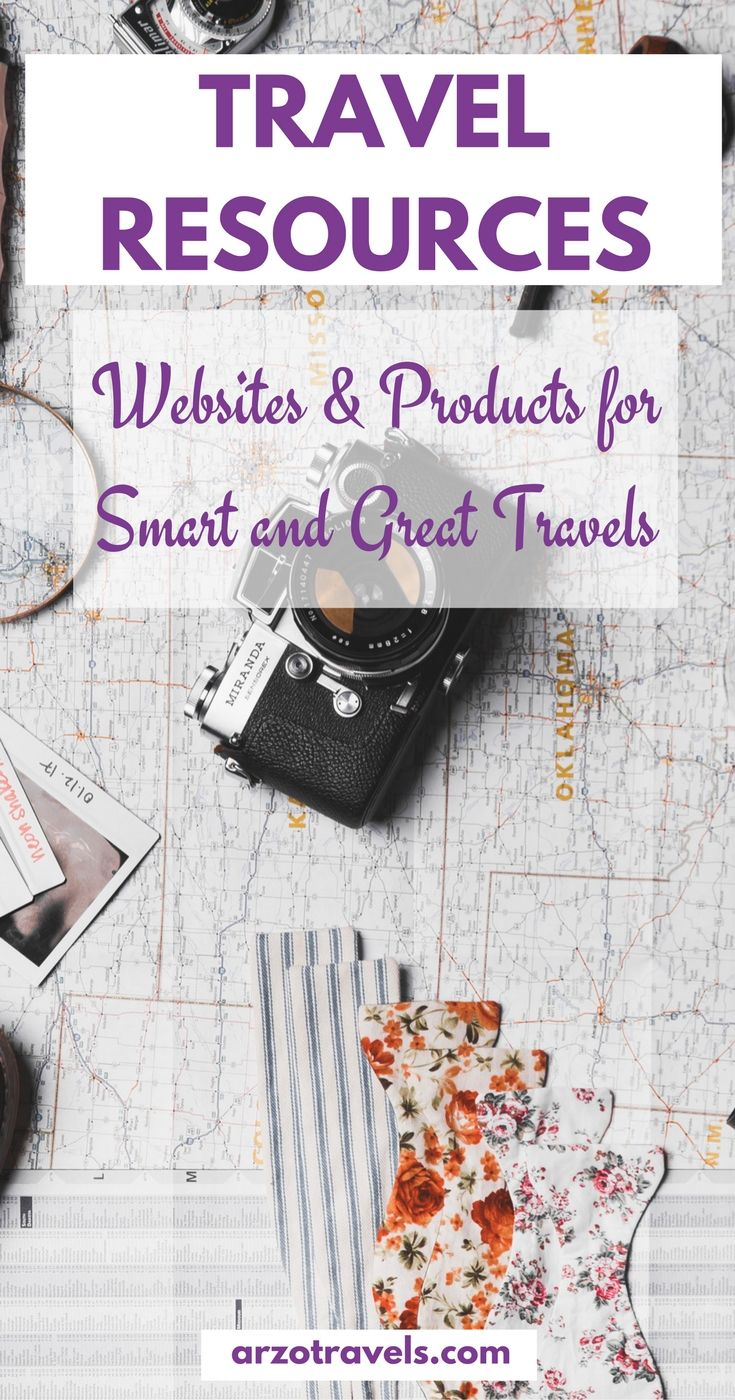 Travel resources for smart and good travels - websites and products that help me, and you, to travel smarter and better (flights, accommodation, tours and activities, products and even beauty products for my travels)