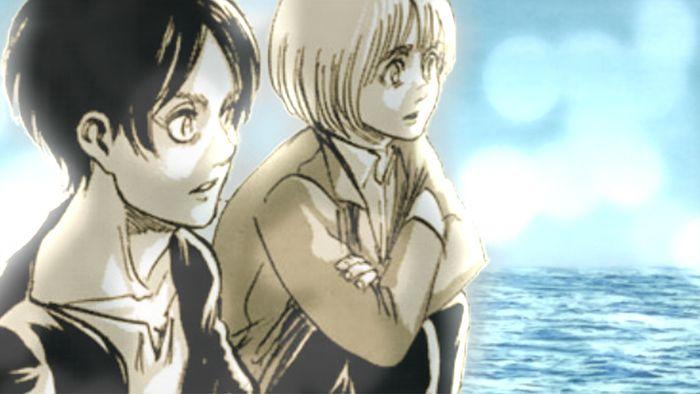 Eren and Armin Shingeki no Kyojin 82,Attack on Titan, snk 82, aot 82 進撃の巨人82話 エレンとアルミン shingekin.com