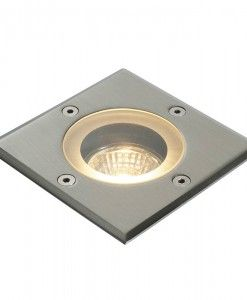 This fitting is manufactured from marine grade stainless steel making it the ideal choice for marine or seaside locations; built to last and suitable for walkover applications. Round shape also available. 50W GU10 reflector (Required) IP65 5mm projection x 105mm square Class 1 BRAND- Endon REFERENCE- 52211 DISPATCH- 3-5 Days (subject to availability)