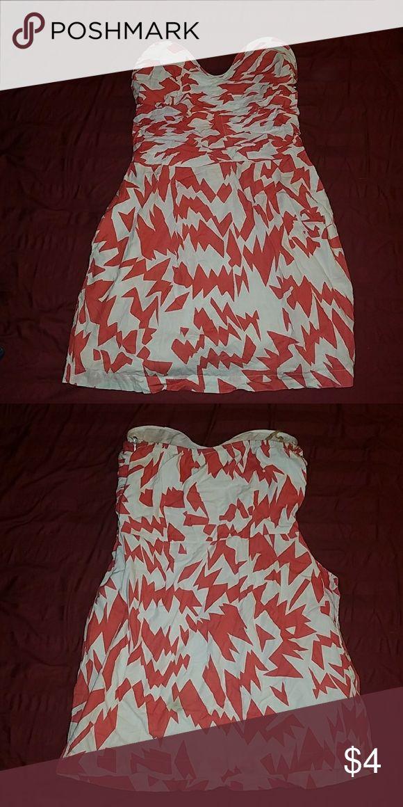 MINI Dress strapless Has cute pockets, mini Dresses Strapless