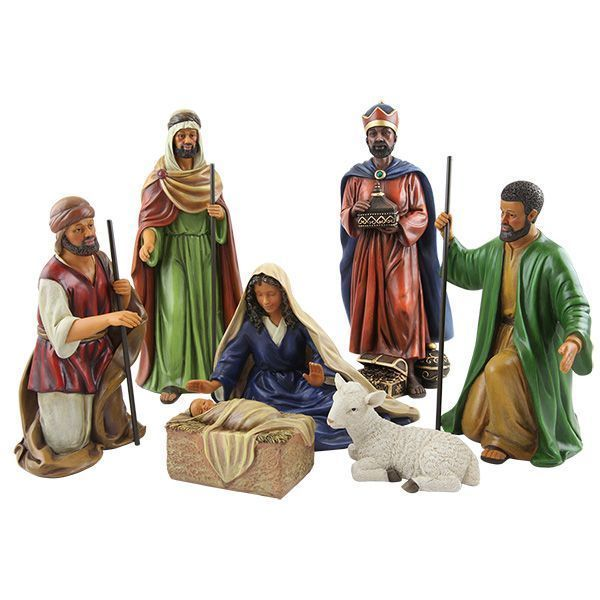 Black Art BLACK NATIVITY SET  Christmas African American Expressions BRAND NEW