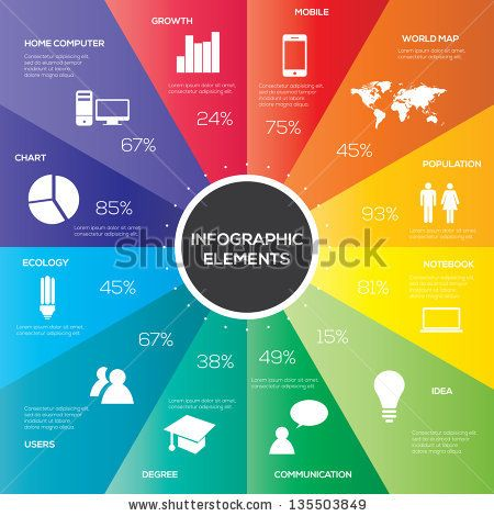 Best Infographic Elements Images On   Stock Photos
