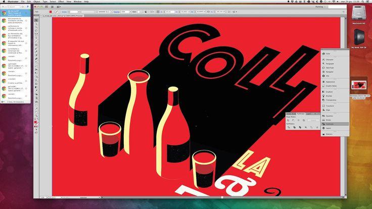 Work In progress - La Strada del Vino 2015 COLLi