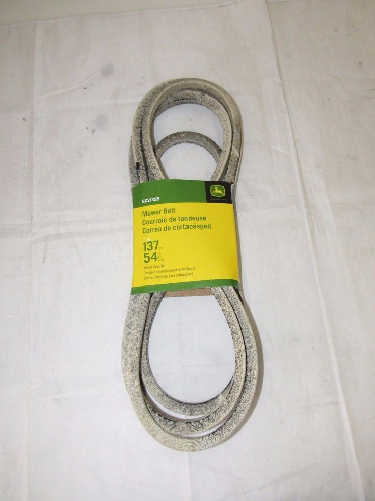 "John Deere 54"" 137cm Mower Drive Belt GX21395 for 190C D170 G110 LA150 LA175"