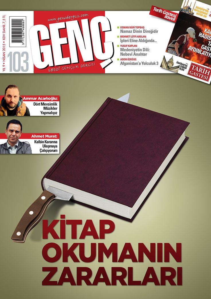 Genç Dergi / Nisan Sayımız Çıktı: Kitap Okumanın Zararları