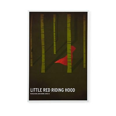 Kids' Room Décor: Fairy Tale Wall Art Little Red Riding Hood