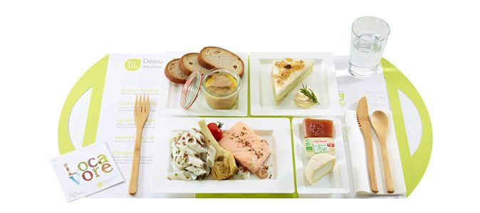 Un plateau-repas proposé par Déjeuner Livré