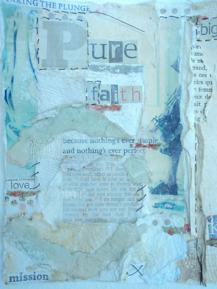 Because Nothing's Ever Simple Mixed Media on Paper Tess Ainley