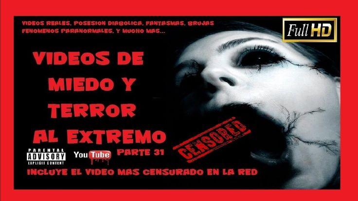 ⛔▶ LOS VÍDEOS MAS REALES Y ATERRADORES terror y miedo reales N° 31