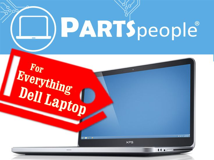 Check out this GREAT site for everything Dell laptop!  #PartsPeople has over 250,000+ replacement parts and laptop accessories for your Dell laptop, plus they have a Dell repair service!   - http://www.parts-people.com/