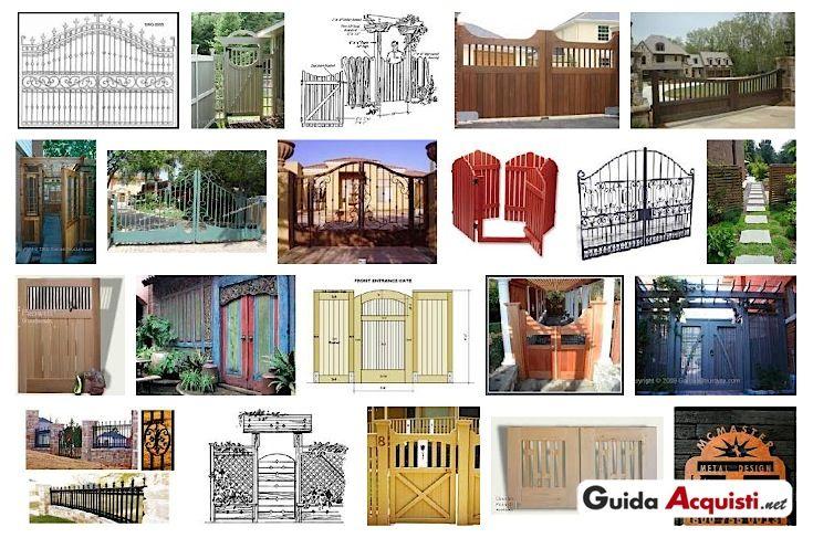 Selezione di Cancelli a battente per esterno: Cancelli Casa, Wooden Gates, Selezione Di, Di Cancelli, Casa Stile