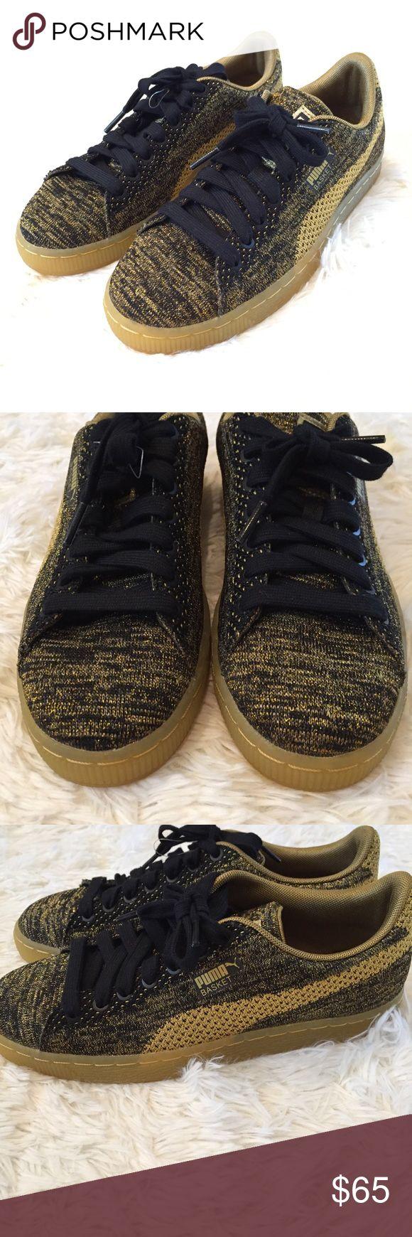 The 25 best puma website ideas on pinterest red charity games m65w8 puma blackgold knit basket sneakers nvjuhfo Choice Image