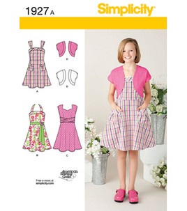 Simplicity Pattern Girl's Dresses 7-8-10-12-14-16: Girl's Patterns: sewing patterns: sewing & quilt: Shop | Joann.com