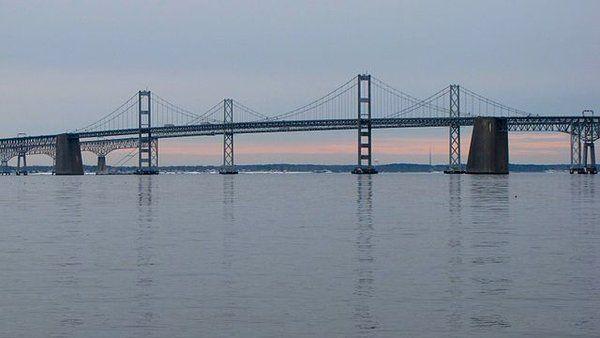 Chesapeake Bay Bridge (Chesapeake Bay, Maryland, USA)